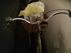 Gift In Bike Basket